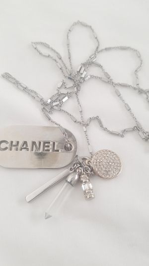 STAINLESS charms NECKLACE 36in for Sale in Tracy, CA
