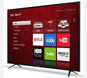 TCL 65in Class 4K (2160P) HDR refurbished Roku Smart LED TV (65S401) for Sale in Richardson, TX