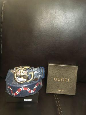 Blue/Gucci belt for Sale in Wichita, KS