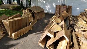 Free Scrap deck wood pressure treated for Sale in Manassas, VA