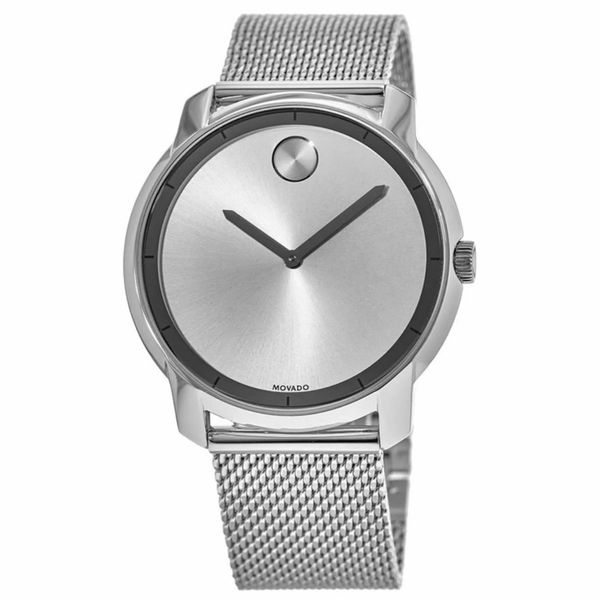 Movado Mens Or Women's Watch Silver NEW With tags