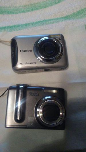 Digital cameras Kodak and cannon for Sale in Allen Park, MI