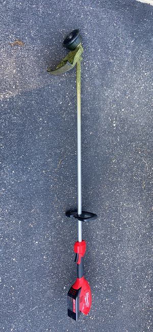 Like new Milwaukee string trimmer weed whacker eater 2725-20 for Sale in Gaithersburg, MD