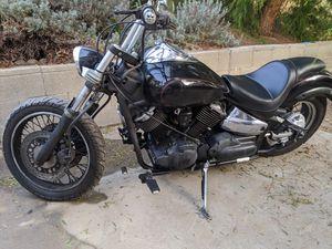 2007 Vstar 1100cc Midnight Custom Edition for Sale in Diamond Bar, CA
