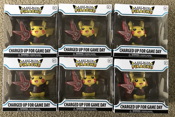 Pokemon Center A Day With Pikachu Charging Up For Game Day Funko Pop Vinyl Collectible Figure