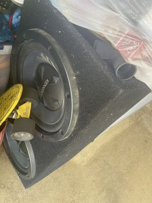 Kenwood imported subs. 12s for Sale in Corona, CA