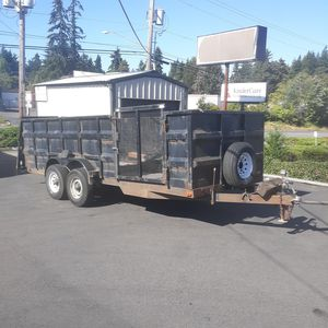 20' Utility Trailer for Sale in Normandy Park, WA
