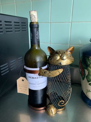 Cat Wine Bottle Holder for Sale in Bohemia, NY
