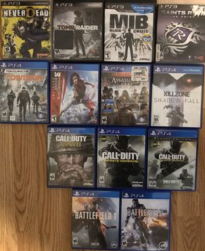 PS4 and Ps3 games for Sale in Oakton, VA