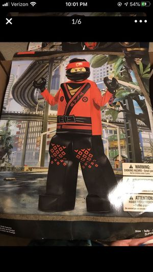 New childs ninja costume red with mask for Sale in Taylors, SC