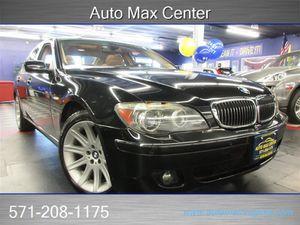 2007 BMW 7 Series for Sale in  Manassas, VA
