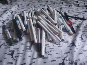 Alcohol based markers lot for Sale in Bridgeport, CT