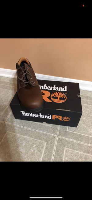 Timberland pro Titan Oxford leather safety boots. Brand new for Sale in Shelby Charter Township, MI