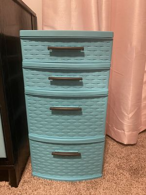 Sterilite 4 drawer storage tower for Sale in Raleigh, NC