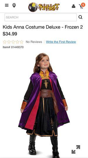 FORZEN ANNA COSTUME for Sale in Fullerton, CA