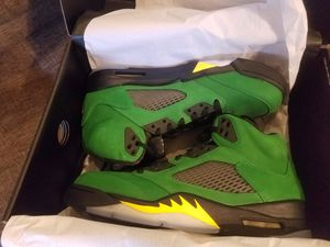 Nike air Jordan 5 v retro se Oregon ducks size 10 and 10.5 delivery available for Sale in Norco, CA