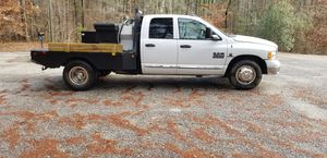 2004 Dodge Ram 3500 Dually Flatbed for Sale in Monticello, GA