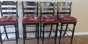 Set of 4 bar stools for Sale in Las Vegas, NV