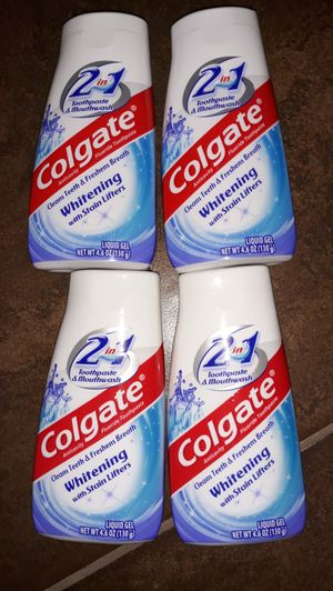 Colgate 2 in 1 Toothpaste & Mouthwash for Sale in Gilbert, AZ