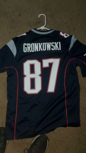 Brand New Patriots Gronk Jersey for Sale in Edmonds, WA