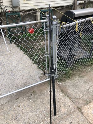 Fishing pole with reel for Sale in Yonkers, NY