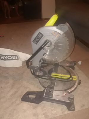 Ryobi 10inch chop saw for Sale in Montrose, CO