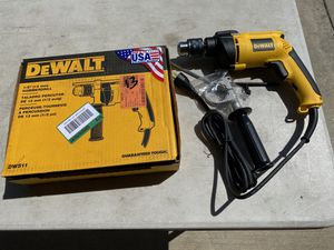 "Dewalt Corded 1/2"" Hammer Drill New USA for Sale in Ontario, CA"