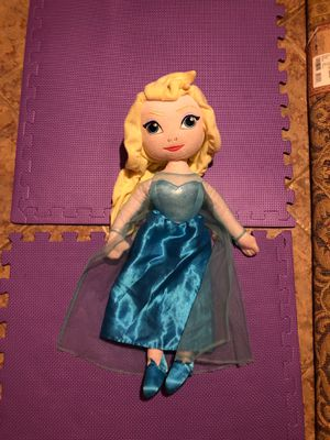 """24"""" singing Elsa doll with replaceable batteries for Sale in Lilburn, GA"""