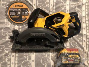 DeWALT FLEXvOLT 60V/9.0ah SKILL SAW for Sale in Emeryville, CA