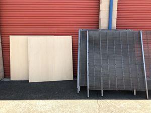 Metal shelves for Sale in Visalia, CA