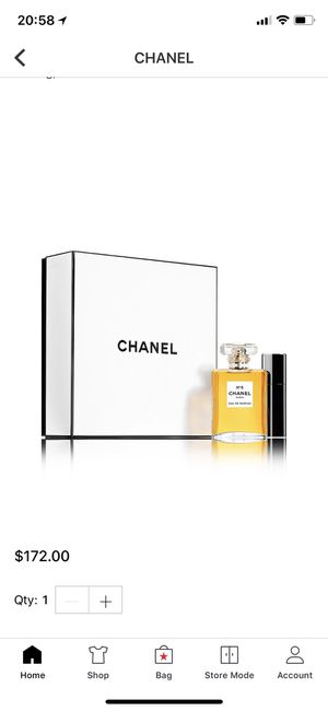 Chanel perfume for Sale in Westminster, CA