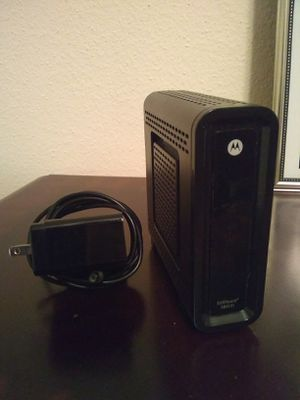 Motorola cable modem - Surfboard SB6121 for Sale in Englewood, CO