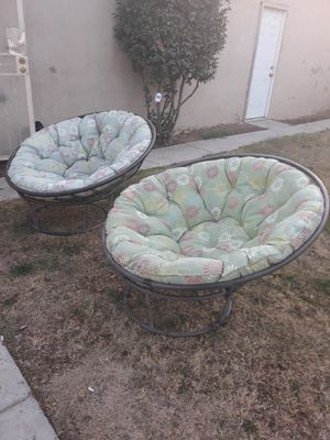 2 papasan chairs for Sale in Fresno, CA