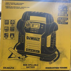 Dewalt Jump Starter for Sale in Las Vegas, NV