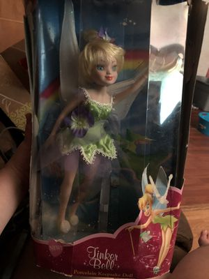 Disney TinkerBell Porcelain Keepsake Doll for Sale in Deerfield, OH