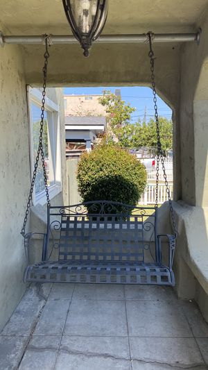 Modern Metal Porch Swing for Sale in San Diego, CA