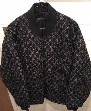 Gucci flight jacket, 2Xl for Sale in Brooklyn, NY