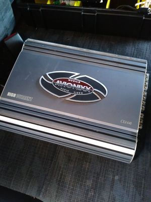 AVIONIXX power amplifier 4chanel 1200watts for Sale in Santa Ana, CA