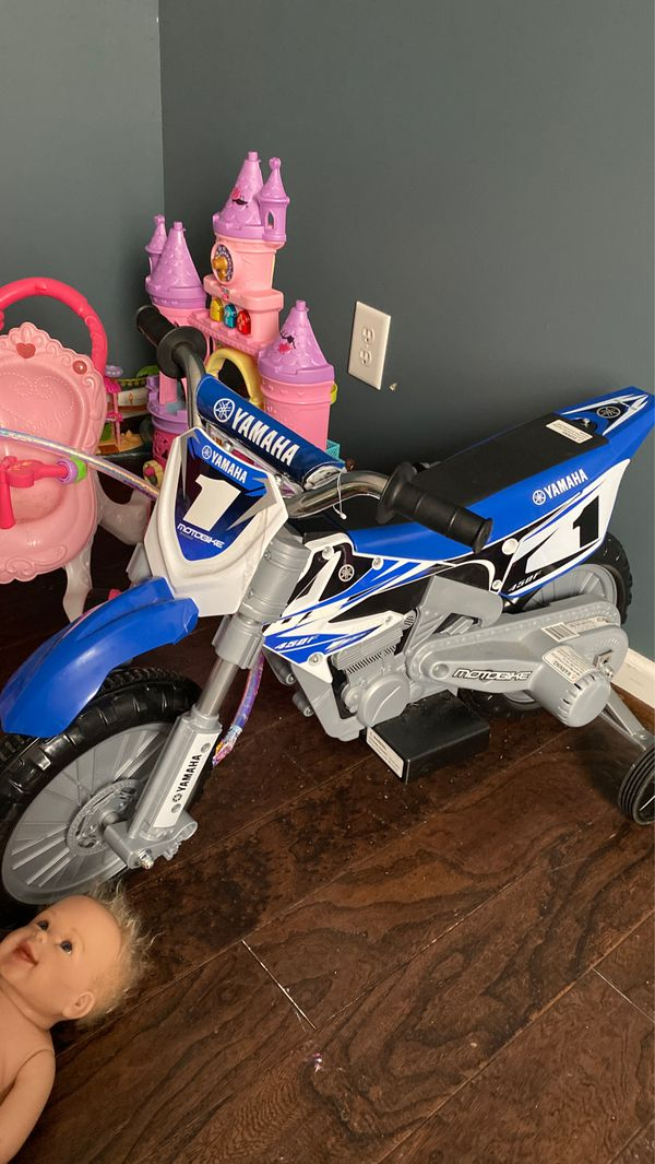 Yamaha motorbike training wheels