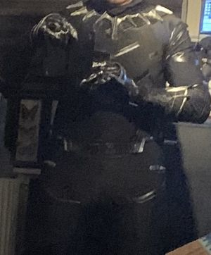 Black Panther Costume/suit. for Sale in Fremont, CA