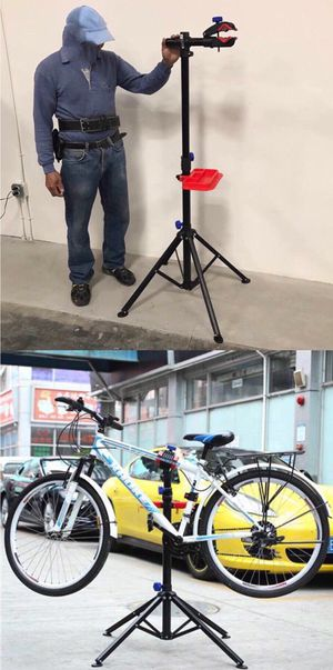 New adjustable 41 to 75 inch bicycle bike repair stand cleaning 66lbs capacity for Sale in Covina, CA