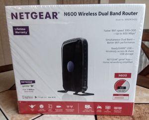 NETGEAR N600 WiFi Dual Band Router (WNDR3400) for Sale in Port Richey, FL