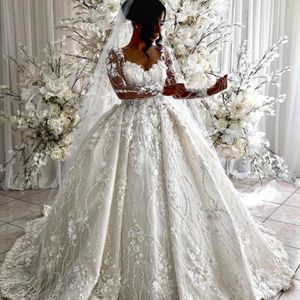 Luxury 3D Lace Ball Gown Wedding Dress for Sale in Norfolk, VA