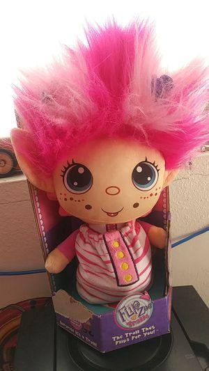 New Flip Zee Troll Doll w big Pink hair great gift for Sale in Phoenix, AZ