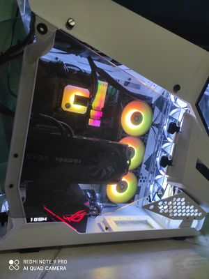 The ultimate gaming PC I9 10900k 2080ti kingpin 4600 MHz ram 1tb 970 Evo plus for Sale in Fort Lauderdale, FL