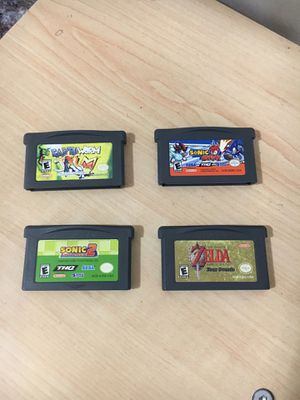 GAMEBOY ADVANCE GAMES for Sale in Garden Grove, CA