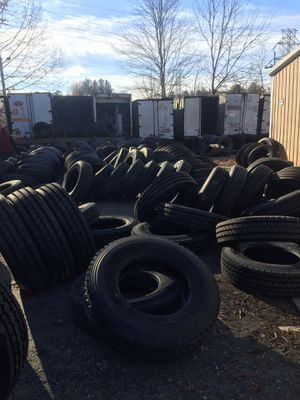 New and used semi truck tires for Sale in Concord, NC