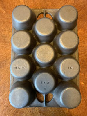 Cast Iron Muffin Pan for Sale in Fullerton, CA