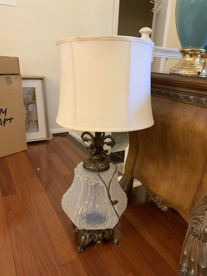 Antique lamp $45 obo for Sale in Wheaton, MD