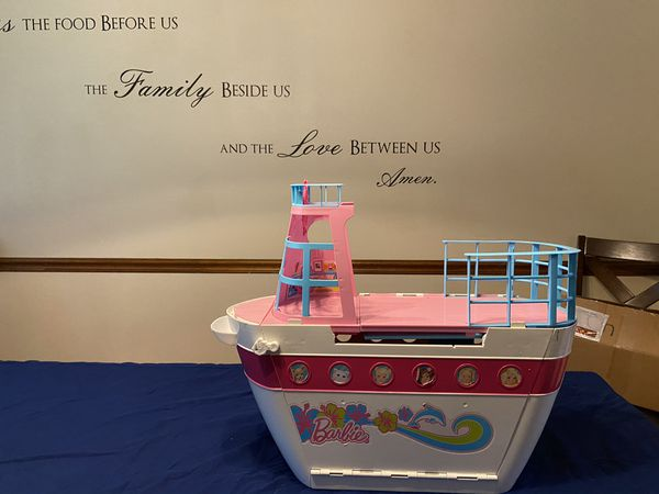 Vintage Rare Barbie Cruise Ship